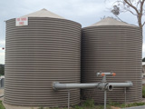 rainwater bushfire tanks, very handy in bush fire fighting