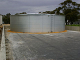 Rocland Winery Barossa Valley AM4G800 (Colour: Galvanised) NB 4 rings high (3.0m)