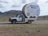 Rainbow tank to goes to Wilpena Pound, Flinders Ranges. S.A